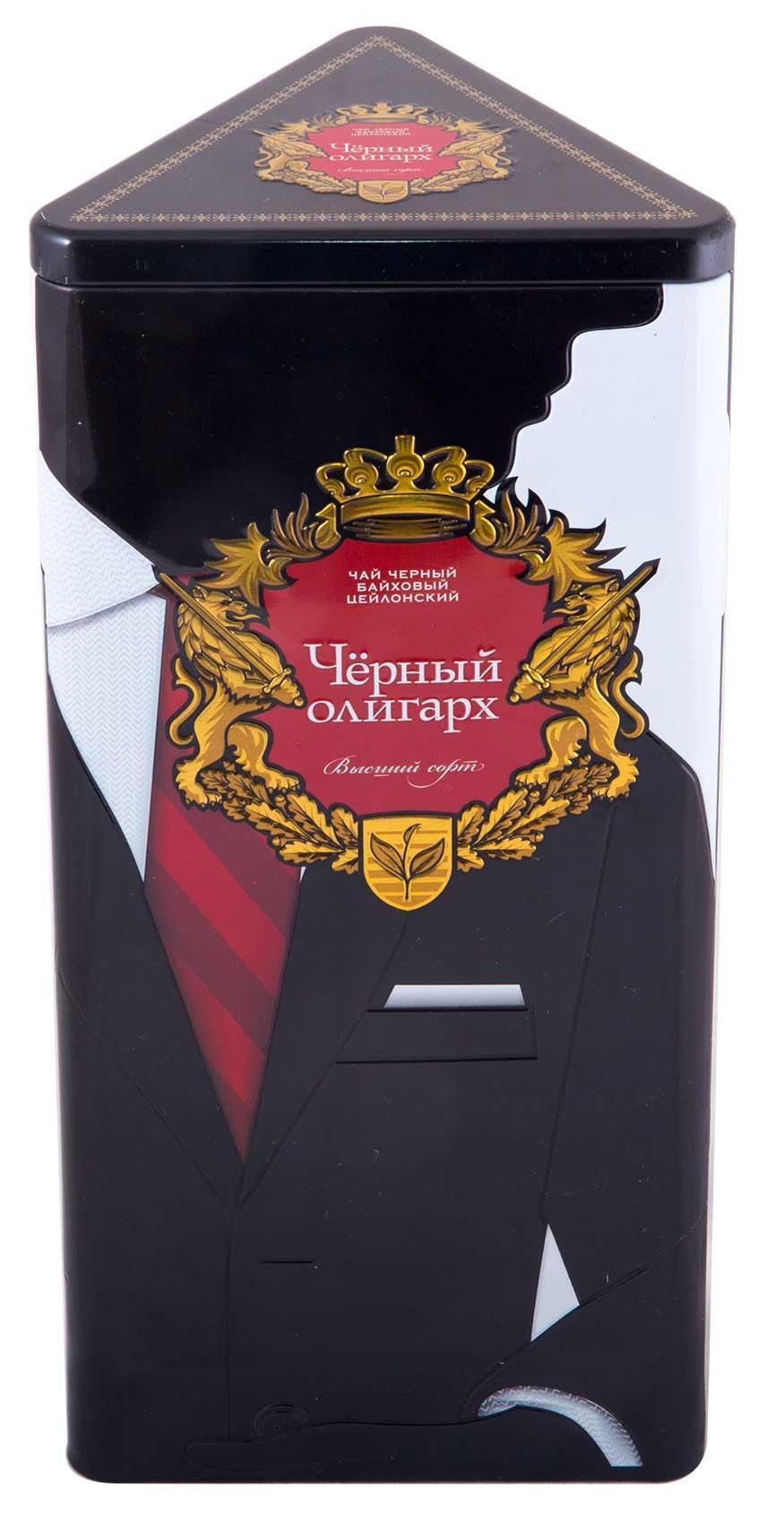 Чай черный Черный олигарх Крупнолистовой