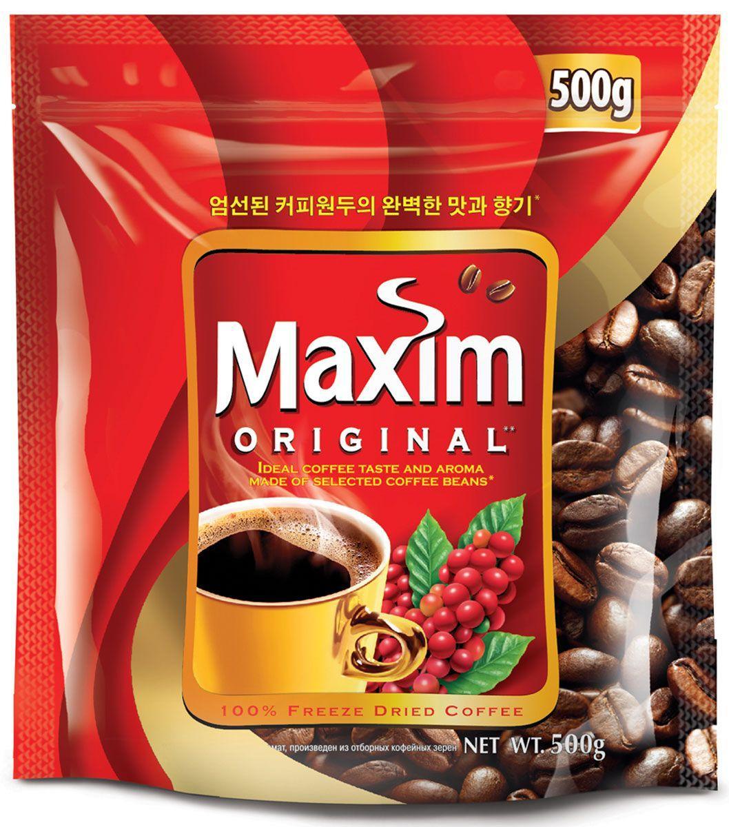Кофе Maxim натуральный растворимый сублимированный