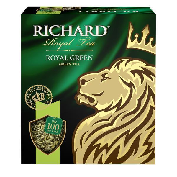 Чай Richard Royal Green зеленый в пакетиках 200 гр