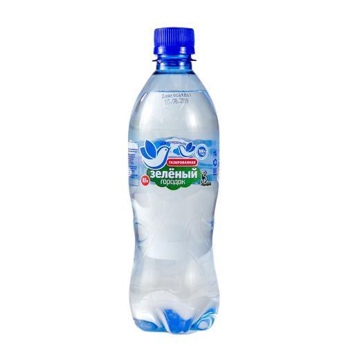 Вода Зеленый городок питьевая минеральная газированная