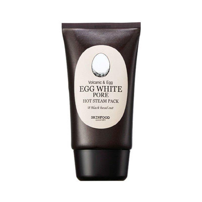 Маска для лица Skinfood с разогревающим эффектом для очищения пор Egg White Pore Hot Steam Pack