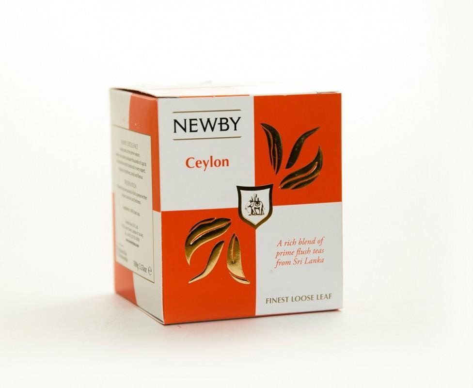 Чай NEWBY черный Ceylon