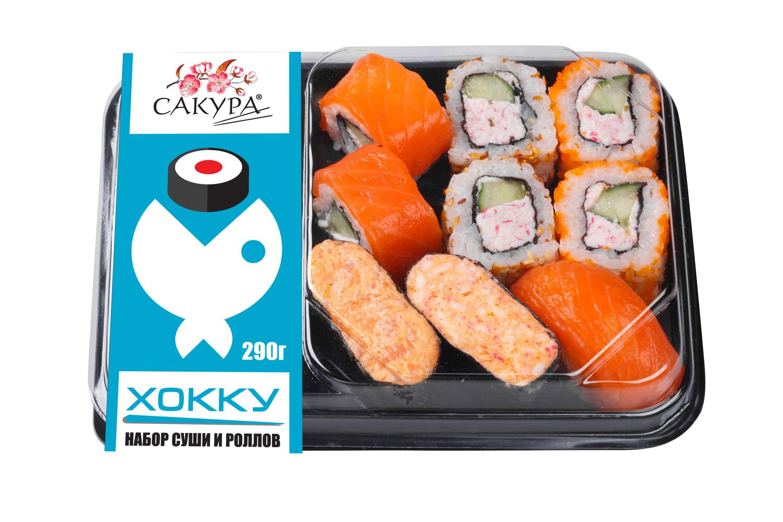 Набор суши и роллов Сакура Хокку