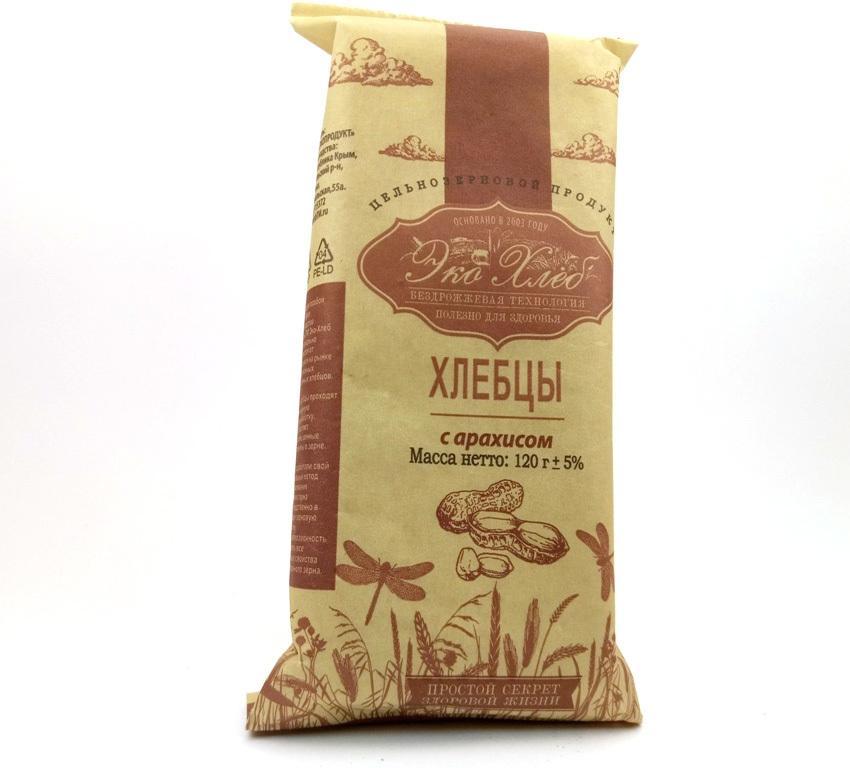 Хлебцы Эко-хлеб с арахисом
