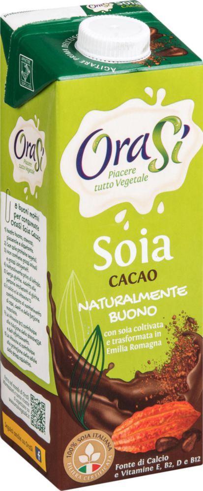 Молоко соевое Orasi Cacao с какао