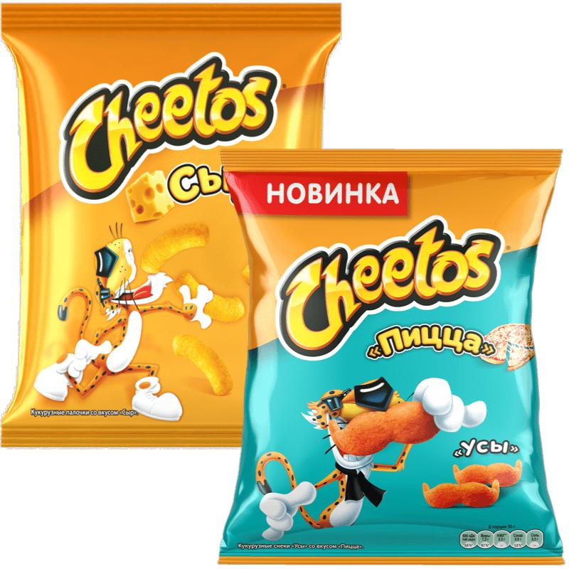 Кукурузные палочки Cheetos ассорти