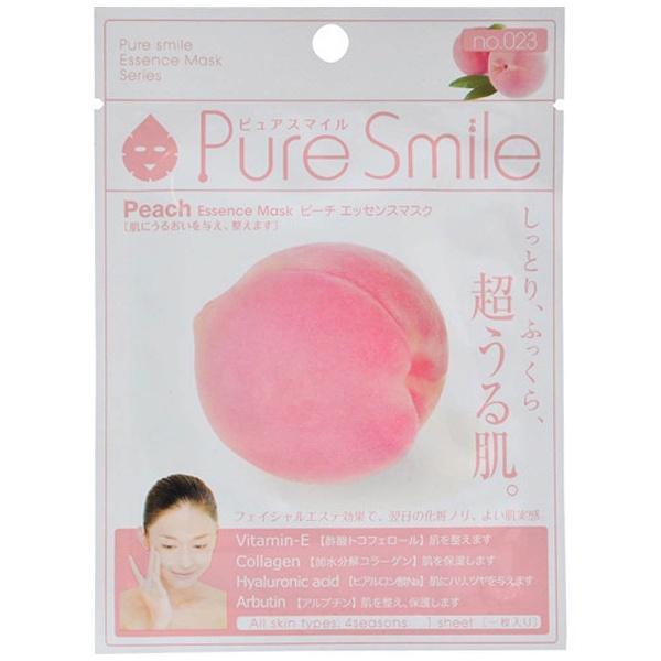 Маска Pure Smile Milk Mask для лица молочная увлажняющая с экстрактом листьев персика