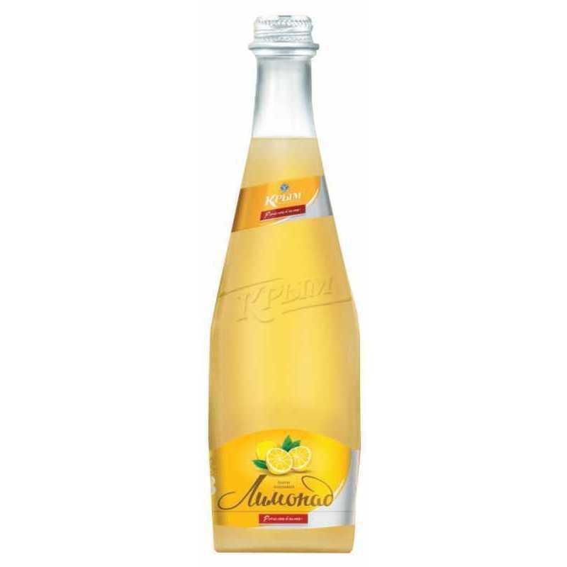 Напиток Крым Лимонад сильногазированный, безалкогольный