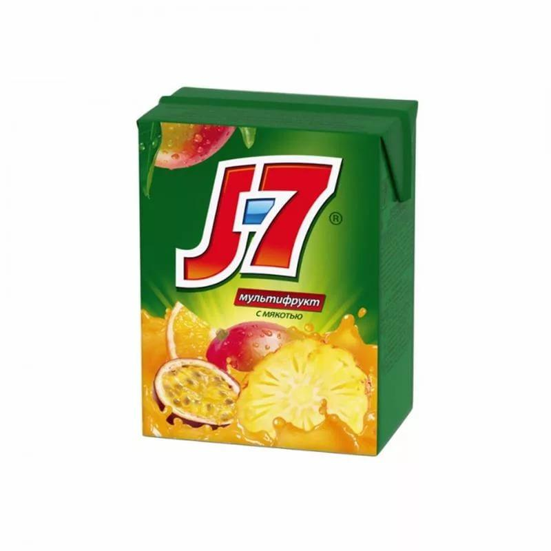Нектар J7 мультифруктовый с мякотью