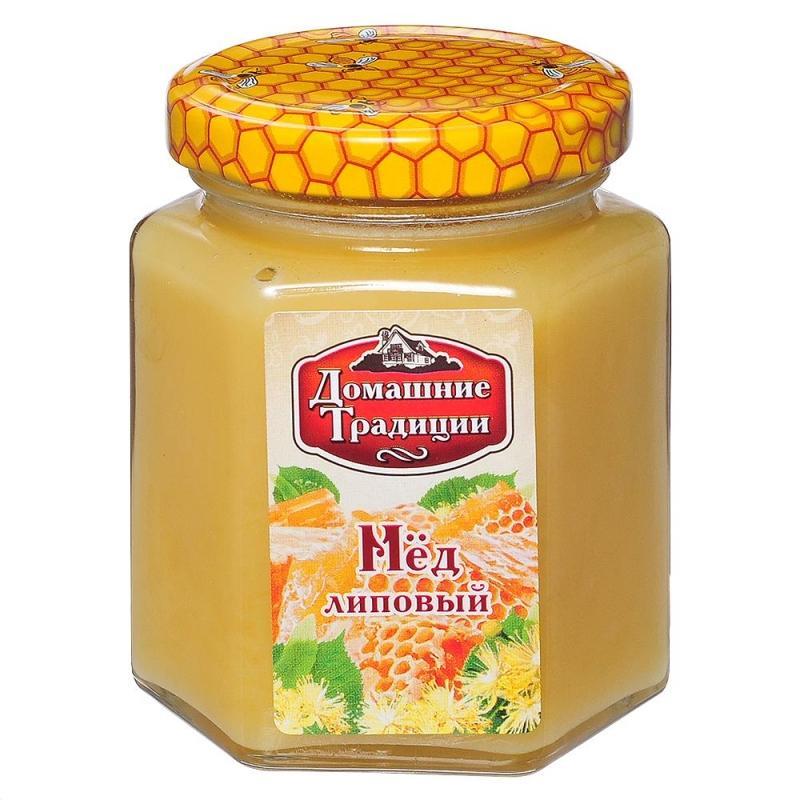 Мед натуральный Домашние Традиции липовый ГОСТ