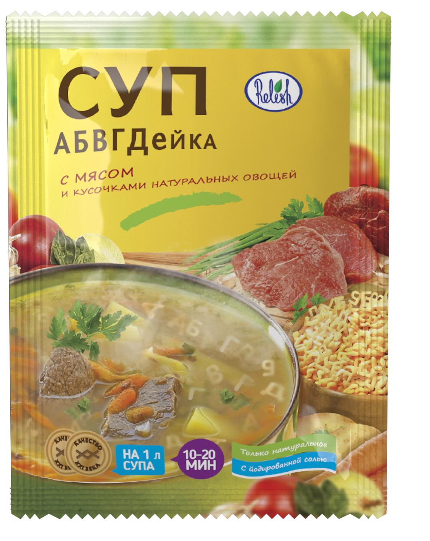 Суп Абвгдейка Мясной с рисом