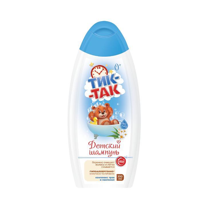 Шампунь Тик-Так Для волос детский С комплексом трав и пантенола