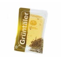 Сыр Gruntaler с пажитником нарезка 30%