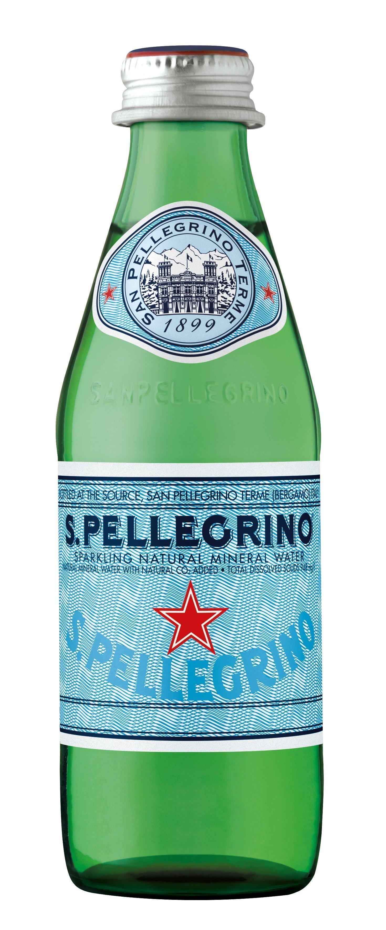 Вода минеральная San Pellegrino Газированная лечебно-столовая