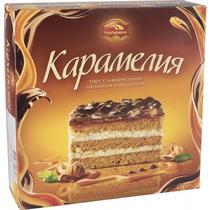 Торт Черёмушки Карамелия