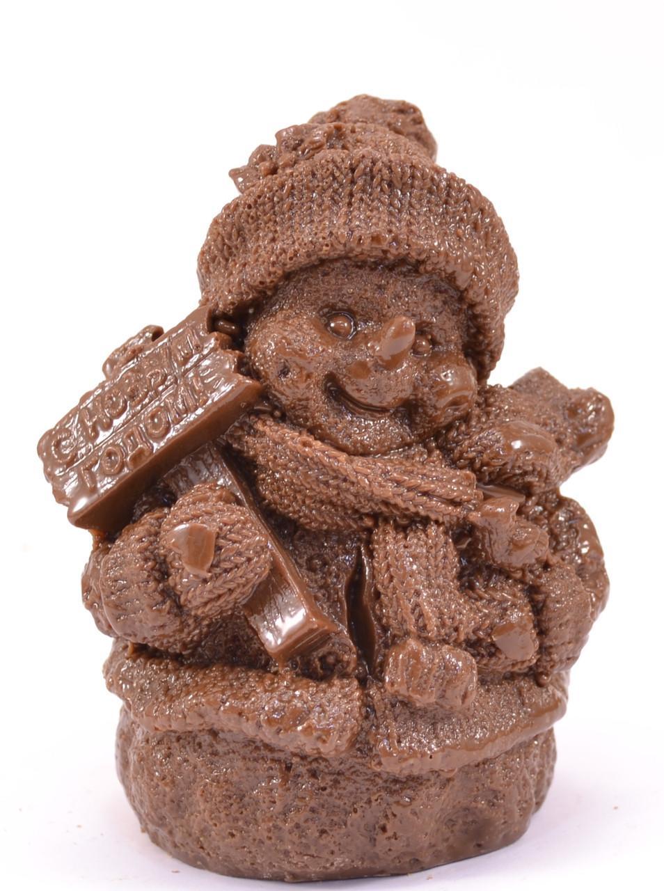 Шоколад Московские Звезды Снеговик с телефоном