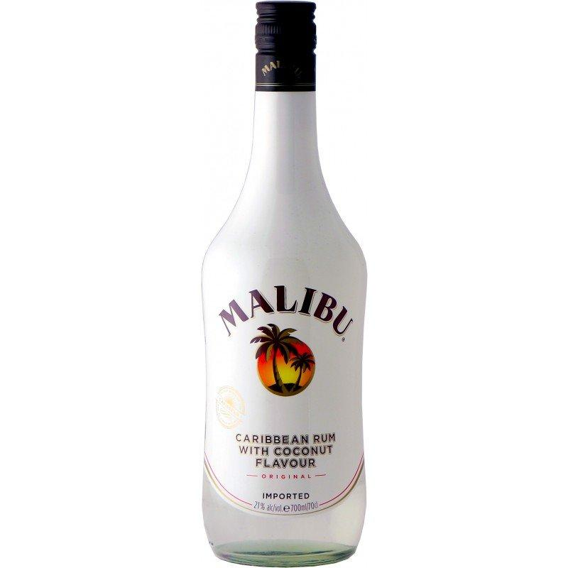 Ликер Malibu на основе карибского рома со вкусом кокоса 21%