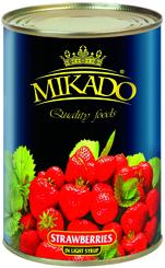 Клубника Mikado в легком сиропе