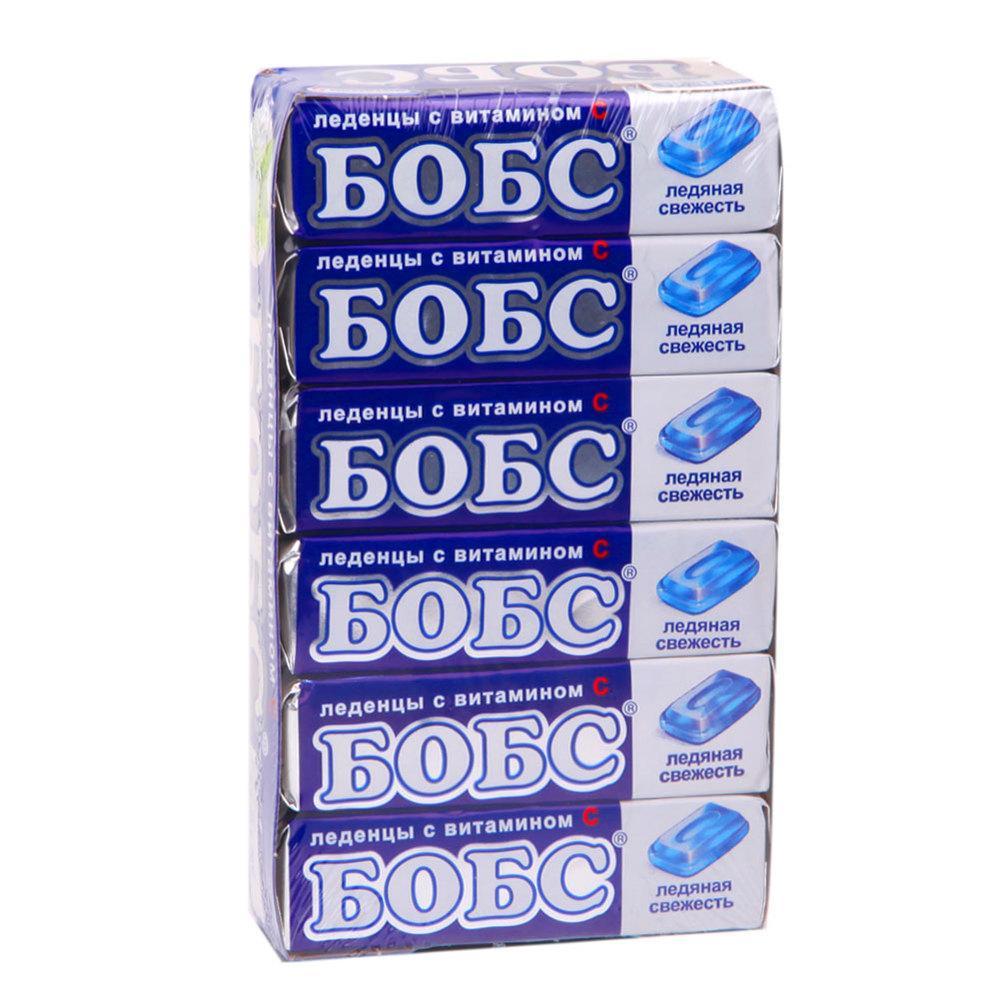 Леденцы от кашля Бобс Ледяная свежесть