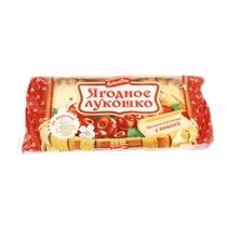 Кекс Хлебный дом Ягодное лукошко с вишней