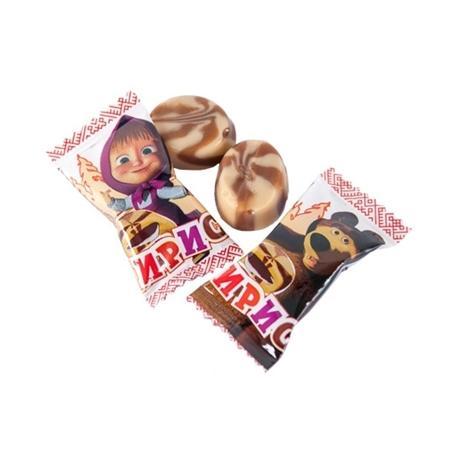 Ирис Ламзурь с начинкой со вкусом шоколада Маша и медведь