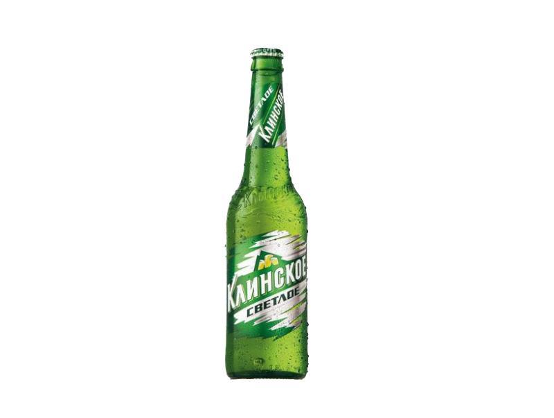 Пиво Клинское светлое светлое пастеризованное