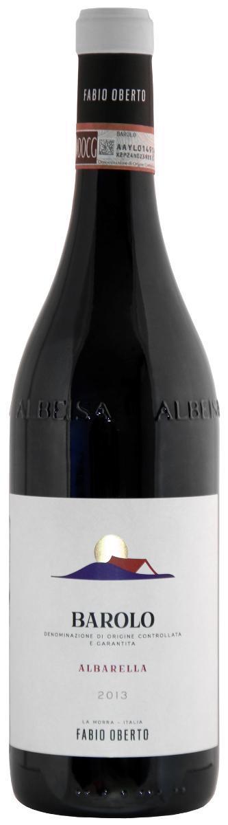 Вино Бароло Альбарелла Фабио Оберто, Италия