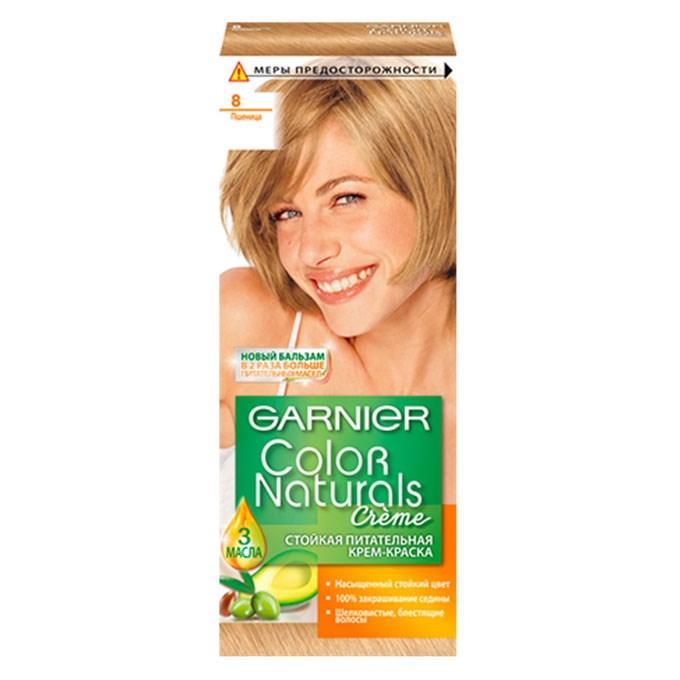 Стойкая крем-краска для волос Garnier Color Naturals 8 Пшеница
