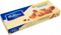 Вафли Bahlsen Waffeletten Трубочки в молочном шоколаде