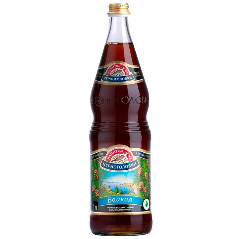 Газированный напиток Напитки из Черноголовки Байкал безалкогольный