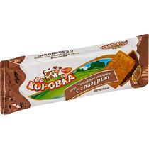 Печенье Рот Фронт Коровка со вкусом топленого молока с глазурью 115 гр