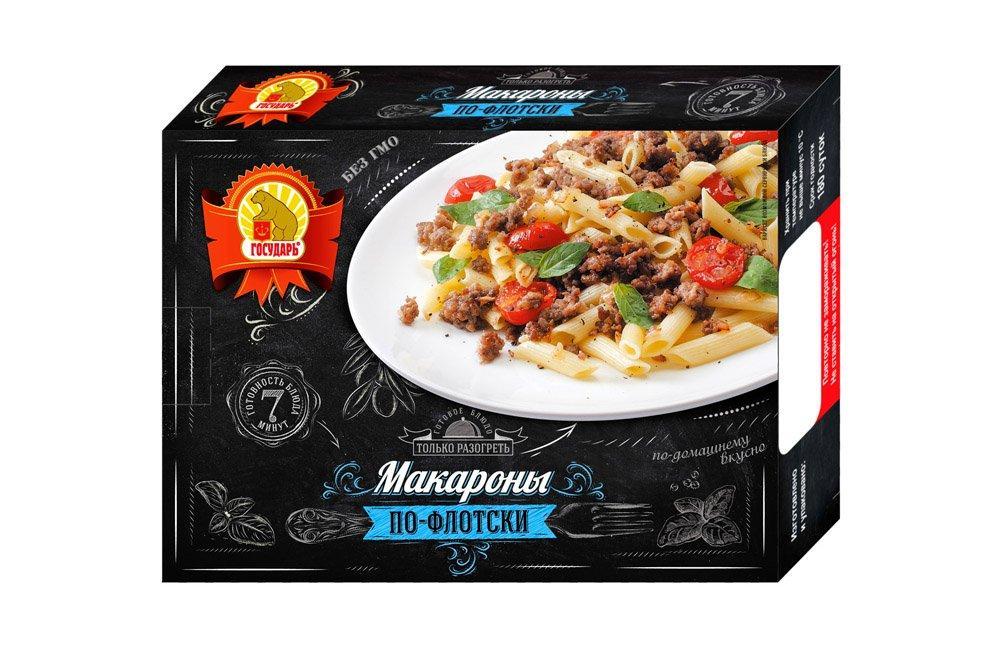 Готовое блюдо Государь Макароны по-флотски