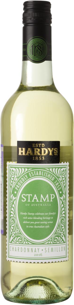 Вино Стэмп оф Австралия Шардоне Семийон / Stamp of Australia Chardonnay Semillon,  Шардоне, Семийон,  Белое Полусухое, Австралия