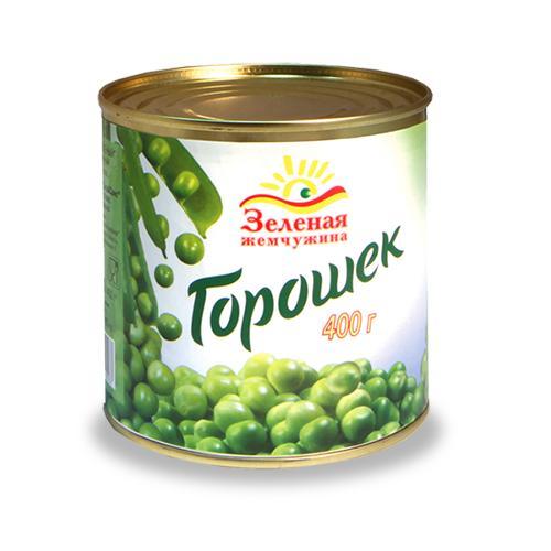 Горошек Зеленая Жемчужина Консервированный