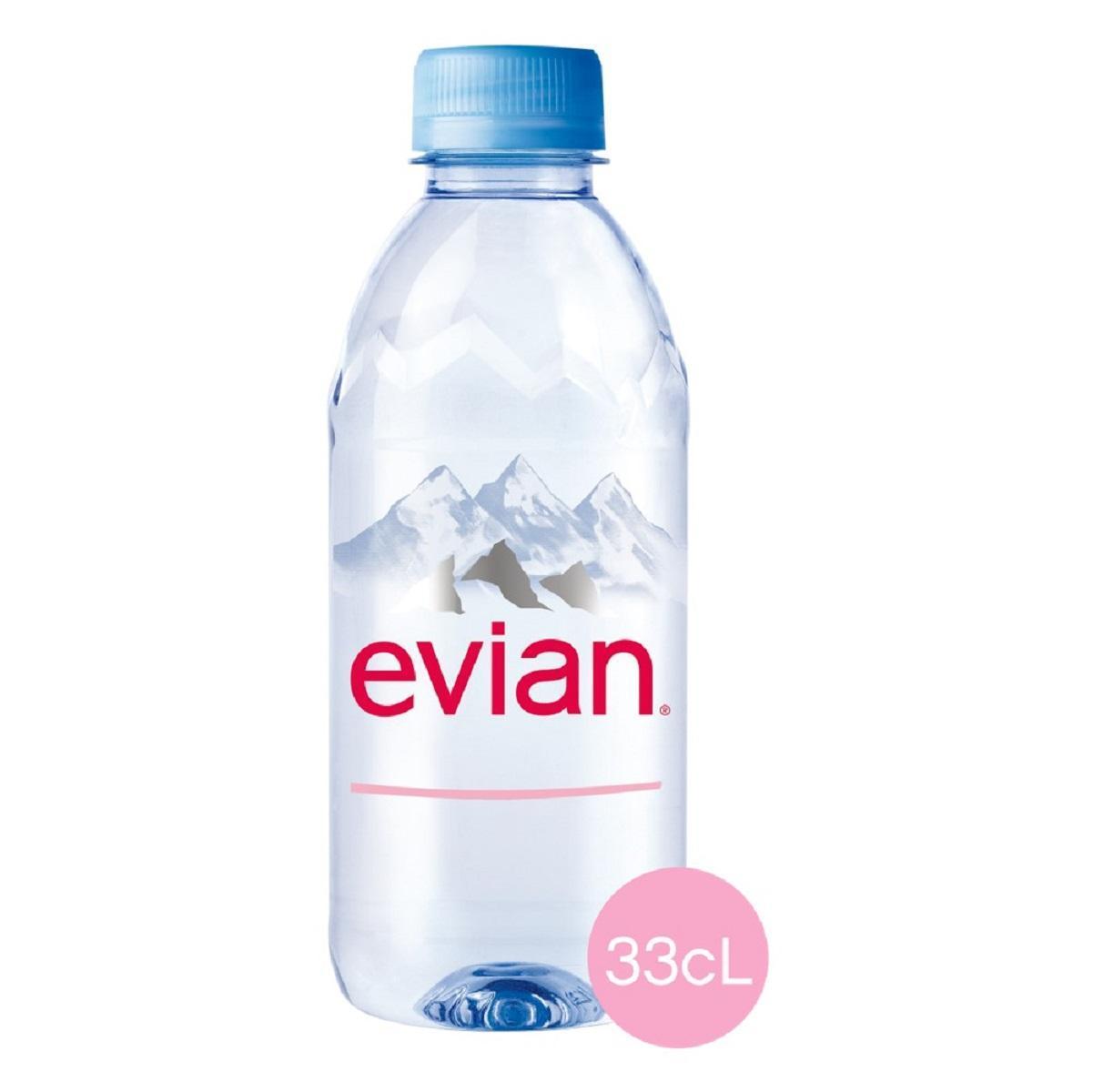 Вода минеральная Evian негазированная