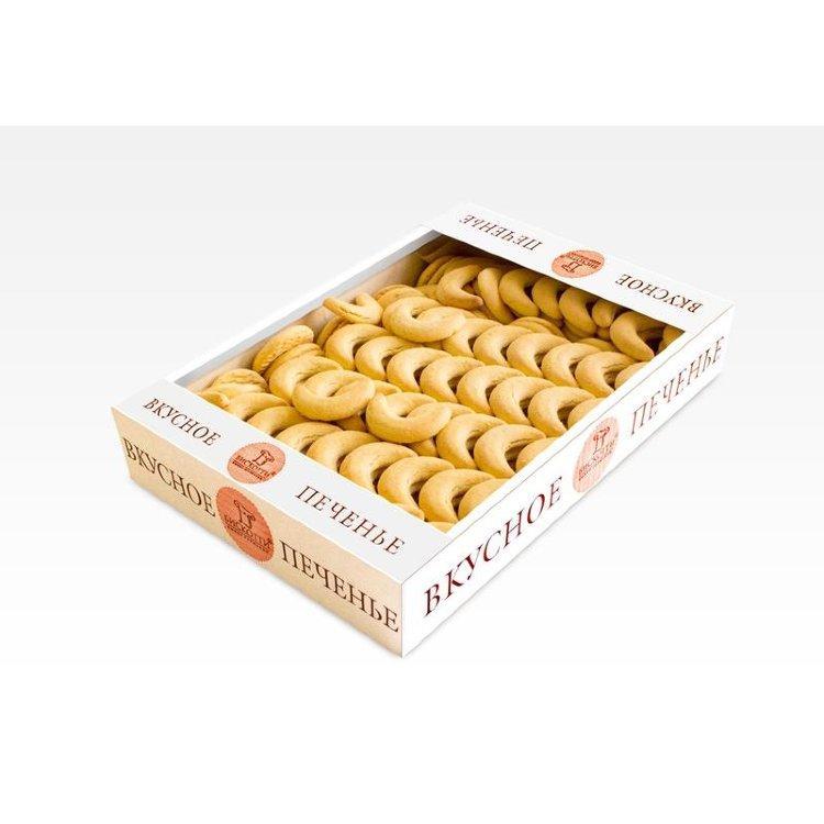 Печенье Бискотти Масляные Рогалики, 1,5кг
