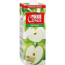 Нектар Моя Семья яблоко  2 л.