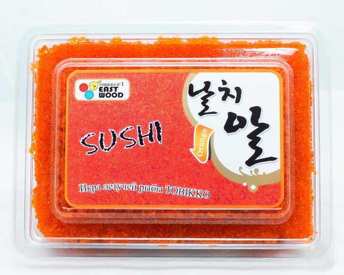 """Икра летучей рыбы """"Суши Тобико"""" оранж (500г/уп)"""