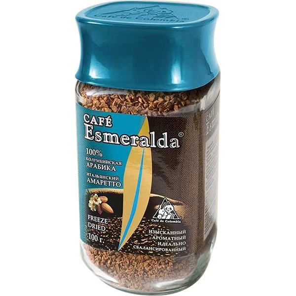 Кофе Esmeralda Итальянский амаретто растворимый