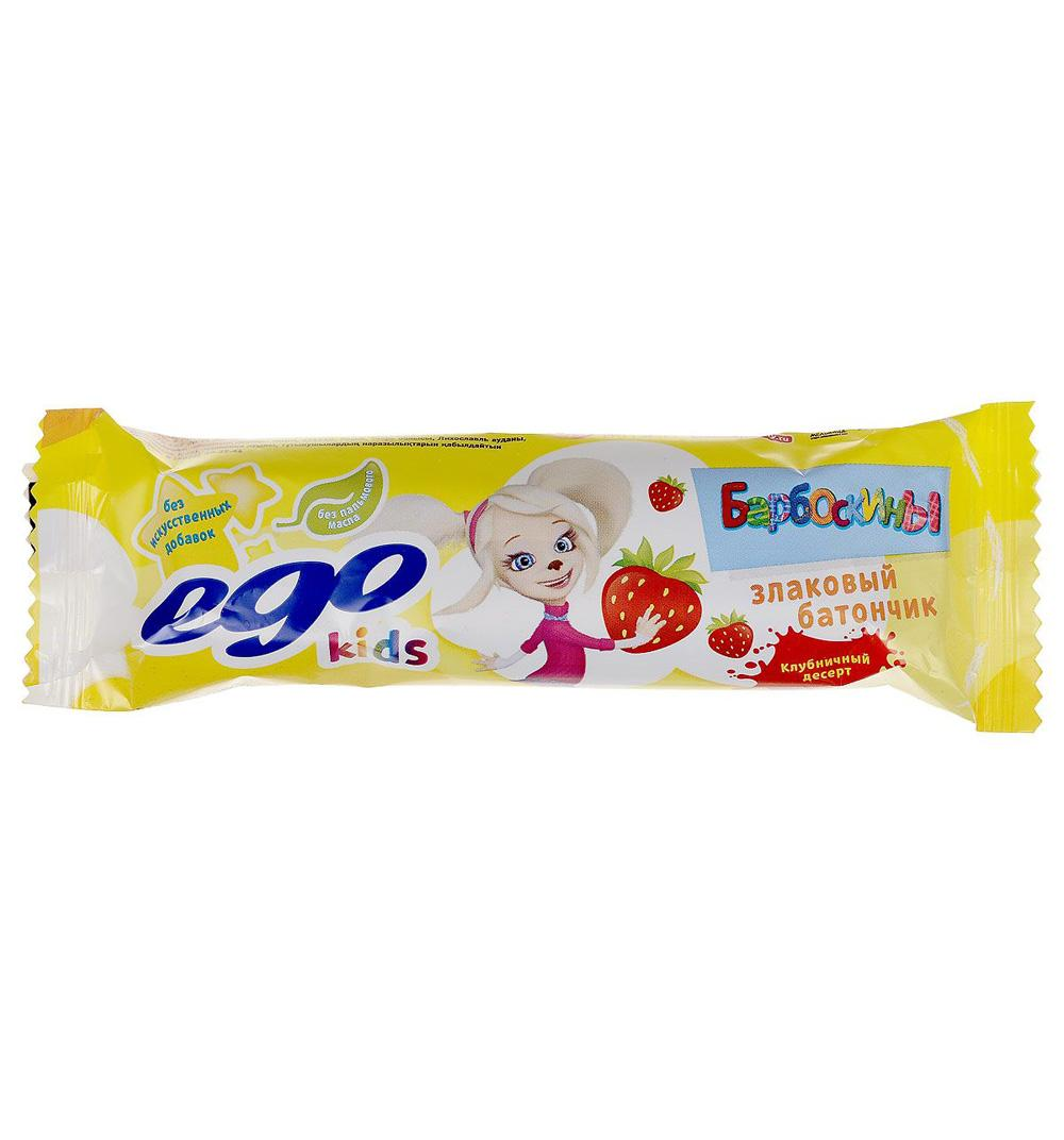 Батончик Ego Kids Клубничный десерт