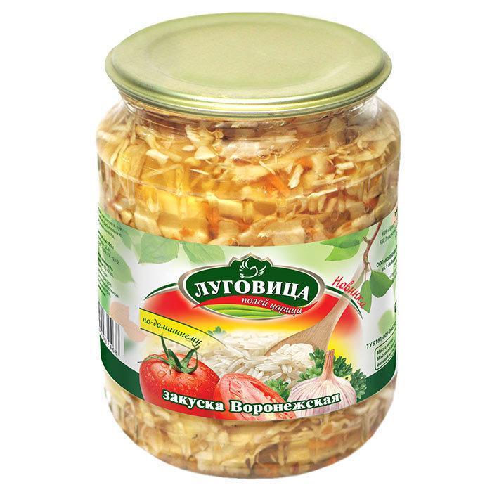 Закуска Луговица воронежская
