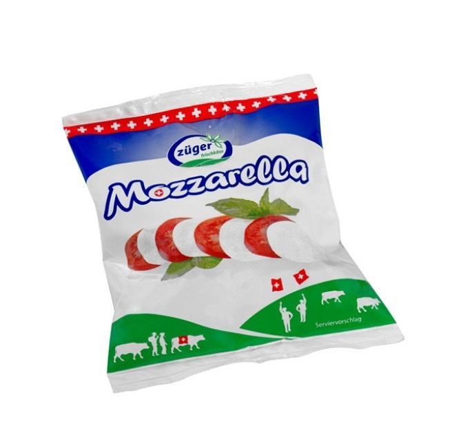 Сыр Zuger Моцарелла в рассоле 45%