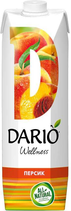 Нектар Дарио велнес персиковый