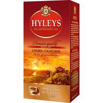 Чай черный Hyleys Золотая коллекция Горный Юньнань 25 пакетов