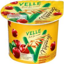 Продукт Velle овсяный ферментированный брусника 1% 140 г
