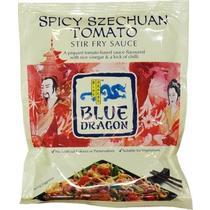 Синий дракон Сычуаньский пряный томатный молочный соус