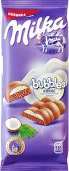 Шоколад Milka Bubbles с кокосом