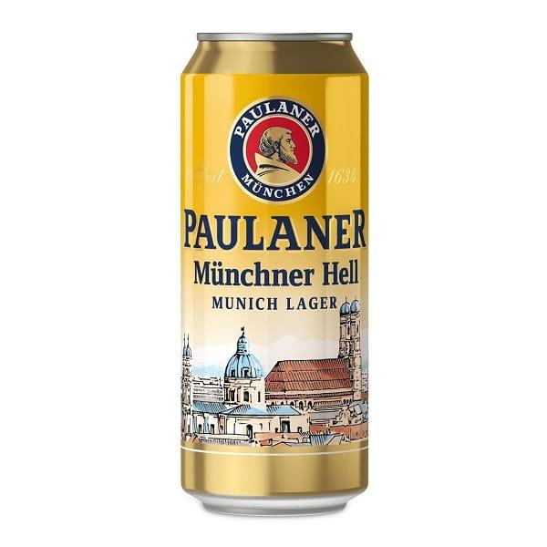 Пиво Paulaner Original Munchner Premium светлое 4,9%
