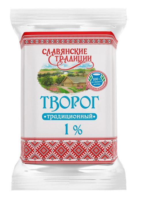 Творог Славянские традиции 1%