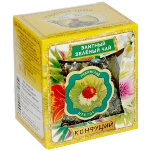 Чай зеленый Конфуций Пекинский цветок